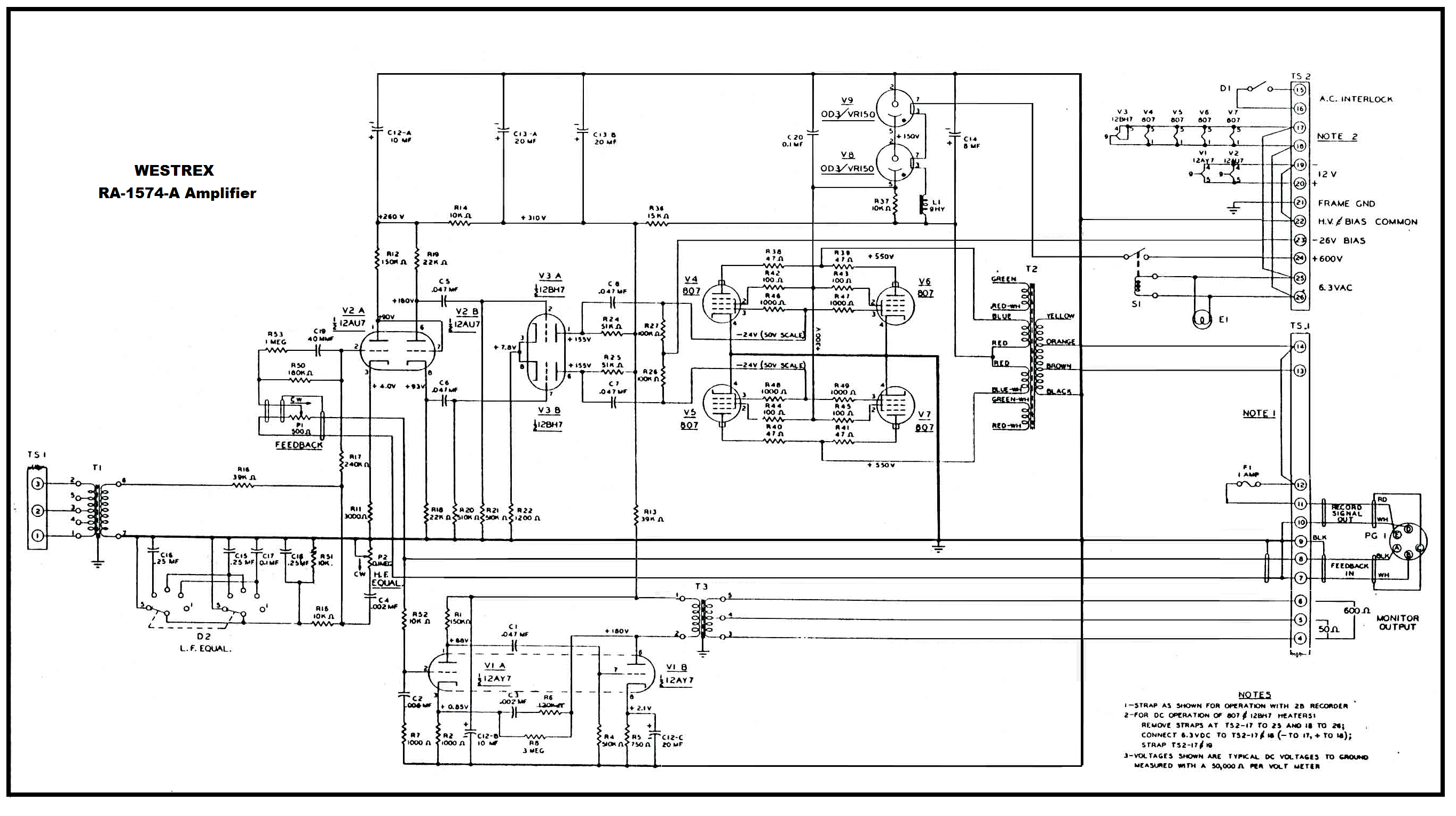 Vbq Ml G Westrex Ra A Ppp Cutting Amp Ed on Push Pull Kt88 Tube Amplifier Schematic